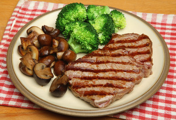 Sirloin Steak Dinner