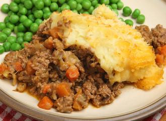 Shepherds Pie with Peas