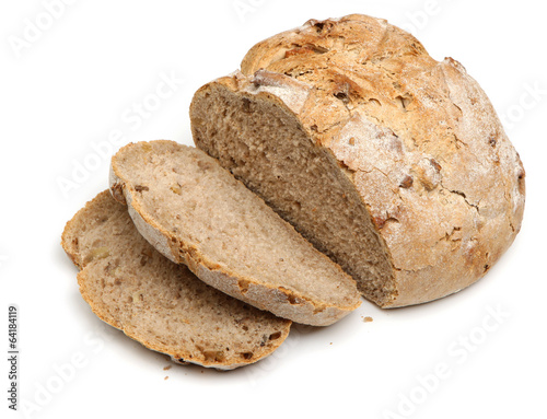 Foto op Canvas Brood Rustic Bread Loaf