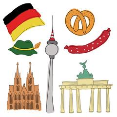 Vector symbols of Germany