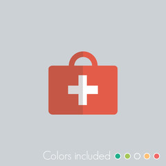 First Aid Kit - FLAT UI ICON COLLECTION