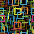 multicolor mosaic seamless pattern