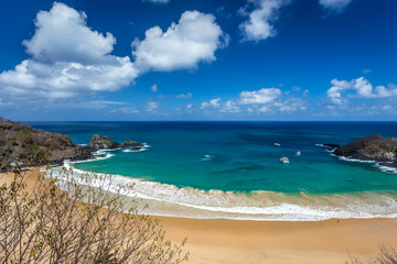 Sancho Bay,in Fernando de Noronha