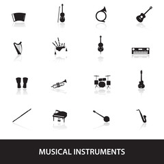 musical instruments eps10
