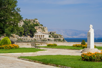 The old castle of Corfu