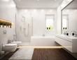 Bathroom white - 64188993
