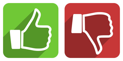 like dislike icon