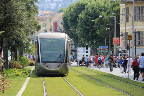 Трамвай в Ницце - 64191379