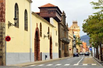 Calle Nava y Grimón . San Cristóbal de la Laguna . Tenerife