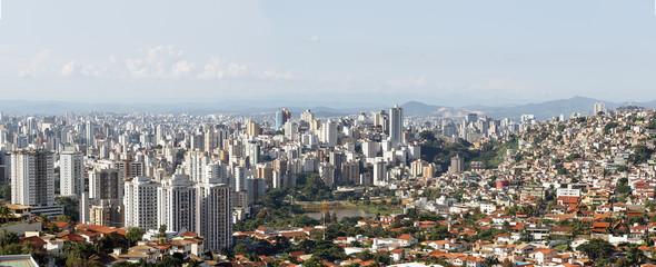 Social inequality at Belo Horizonte, Minas Gerais, Brazil