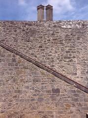 chimney wall