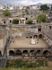 le rovine di Ercolano