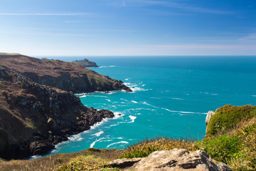 Zennor Head Cornwall England
