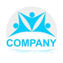 логотип люди
