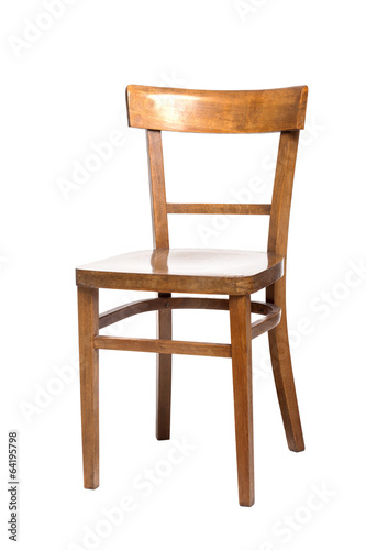 wooden chair - 64195798