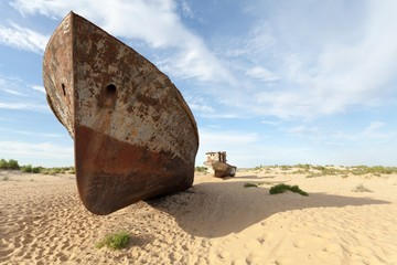 Lost Aral Sea