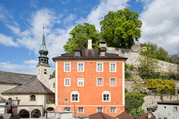 Historic old town of Salzburg, Austria