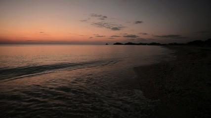沖縄の夕景