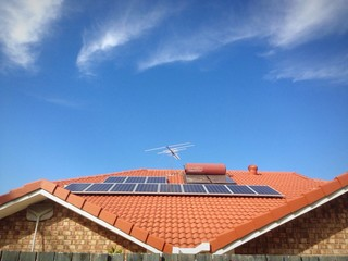building on the solar cell