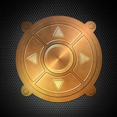 Schalter Wheel Lochblech K