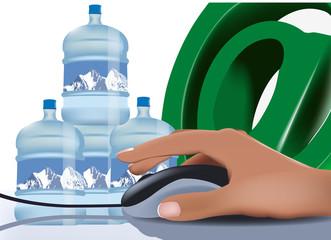 contenitori acqua potabile