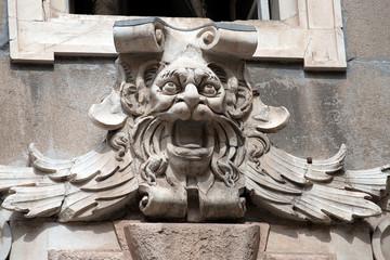 Gargoyle Head - Palazzo Tursi Genova