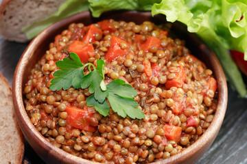 Boiled Lentil