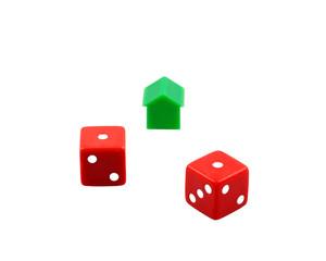Losing dices