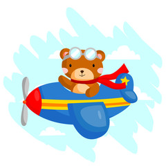 Flying Bear
