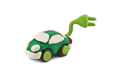 plasticine environmentally friendly car