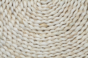 straw cushion texture background