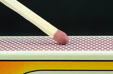 match ,close up image