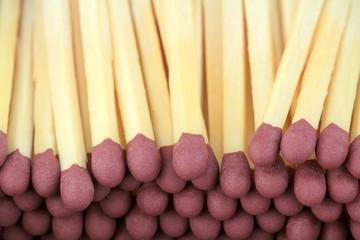 Matchstick close up image