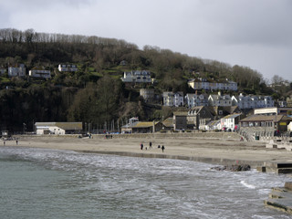 Looe, Cornwall, sea front