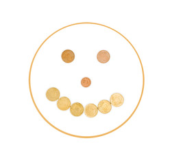 smile from coins