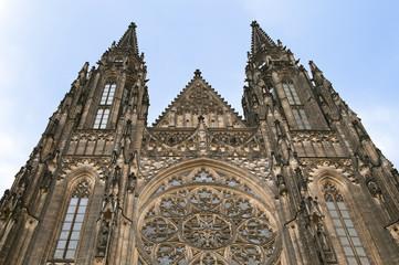 Saint Vit cathedral in Prague
