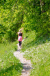 Wanderpfad im Grünen