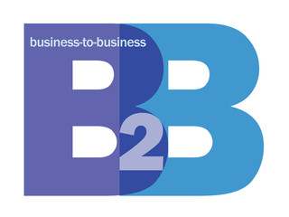 B2B Letter Collage (customer services commerce business clients)