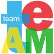 TEAM Letter Collage (teamwork project management success ideas)