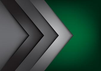 Green vector background overlap dimension
