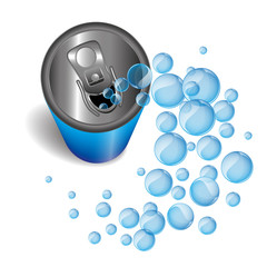 Blue Can