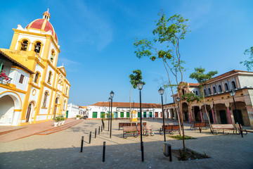 Plaza in Mompox