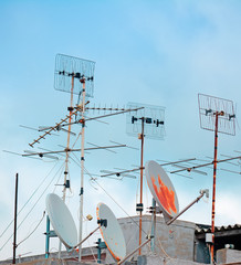 old antennas