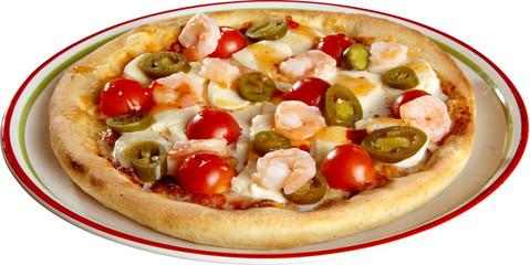 Garnelen Pizza, Seefood, Pizzafreisteller