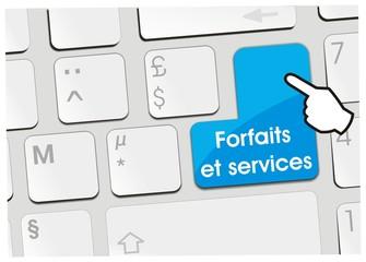 clavier forfaits et services