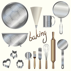 kitchen bakery utensils