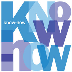 """KNOW-HOW"" Letter Collage (professional knowledge expertise)"