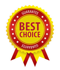 Vector Best Choice Label