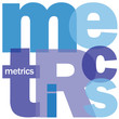 """METRICS"" Letter Collage (statistics data management analysis)"