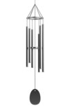 realistic 3d render of wind chimes poster